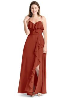 3b39f17fb19f Shop Azazie Bridesmaid Dress - Tami in Chiffon. Find the perfect made-to-