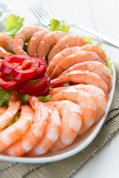 14 ounces fresh or frozen and thawed peeled and deveined extra-large shrimp Shrimp Dishes, Shrimp Pasta, Pasta Dishes, Skinny Girl Recipes, Large Shrimp, Lemon Pasta, Shelled, Diabetic Living, Calamari