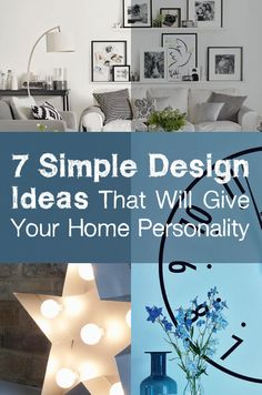 7 Simple Design Ideas That Will Give Your Home Personality    | From adding accent colours with accessories to painting a feature wall, Style at Home shows you ways to add personality to your space and create a scheme no one will forget