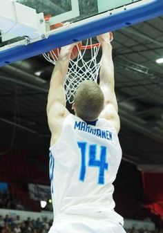 Lauri Markkanen in FIBA u20 European Championship game v. Spain 17.7.2016. 33 points, 7 rebounds, 5 steals, 2 blocks and efficiency +40.