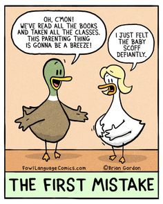 Pin by patricia klassen on that's life! Life Humor, Mom Humor, Baby Humor, Humor Humour, Fowl Language Comics, Parenting Memes, Funny Babies, Funny Comics, Funny Jokes