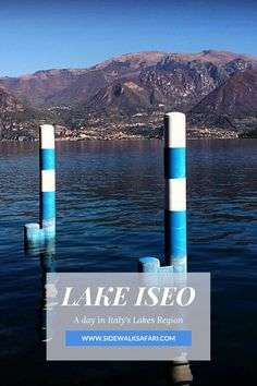 Looking for Italy travel ideas? Take a Bergamo to Lake Iseo day trip.  See Lake Iseo in a day. Spend one day on Lake Iseo in Italy. #Bergamo  #Italy