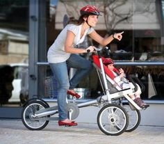 Bicycle Baby Stoller Go, go, Speed Racer!
