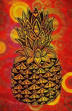 """Pineapple Love"" by Alohalani"