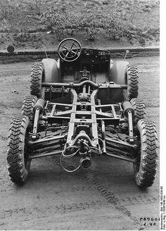 Schnellastwagenfahrgestelle L 2 H 43 (Krupp-Protze)