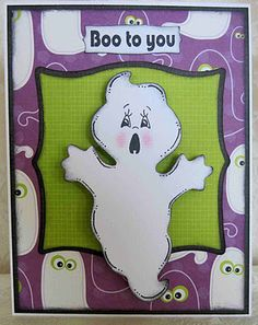 Luv Scrapping Together: Boo To You! ~ FCCB Challenge Me Monday