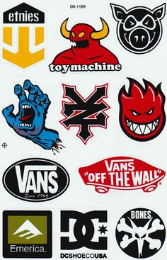Discover recipes, home ideas, style inspiration and other ideas to try. Skate Logo, Dc Skate, Skate Art, Skateboard Logo, Skateboard Design, Logo Sticker, Sticker Design, Skate Element, Skate Wallpaper