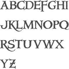 MyFonts: Pirate typefaces