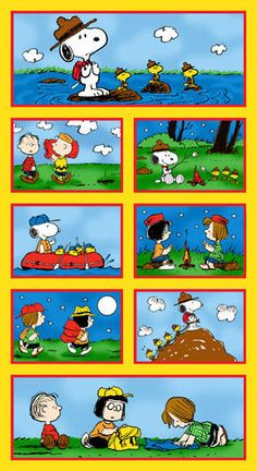 Snoopy Summer Camp