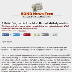 Titrating medication over 6 weeks may help adults with ADHD more effectively reduce their symptoms.