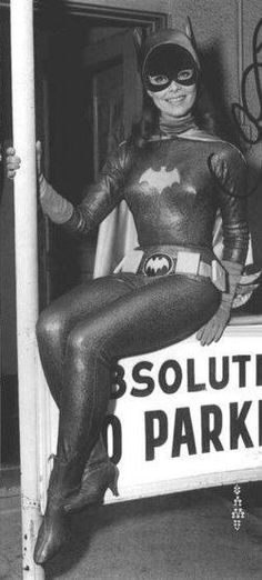 Absolutely No Parking Bat Girl