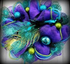 peacock holiday color - Google Search