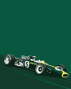About to go into production with our F1 silkscreen prints. First up will be Jim Clark and the Lotus 49. Meticulously detailed and limited to just 50 18x24 5 color prints on 100lb French Paper