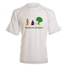 Fueled By Veggies Performance Dry T-Shirt on CafePress.com