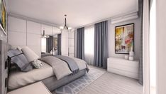 Bedroom Design by Mialmi Modern Contemporary, Bedrooms, Interior Design, House, Furniture, Home Decor, Nest Design, Decoration Home, Home Interior Design