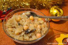 Smaczny kąsek: Kapusta z grochem i grzybami Vegetables, Food, Vegetable Recipes, Eten, Veggie Food, Meals, Veggies, Diet