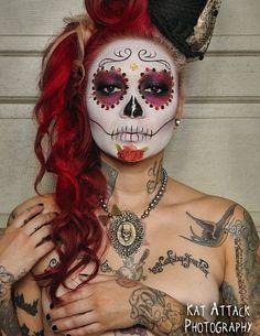 dia de los muertos - inspiration for my costume