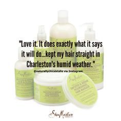 SheaMoisture Tahitian Noni  Monoi Smooth  Repair Straightening Kit #SheaFamily feedback.