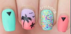 Haute Spotter - Style, Beauty, and Celebrity Fashion News Summer Diy, Manicures, Nails, Fashion News, Celebrity Style, Nail Designs, Celebrities, Tropical, Painting