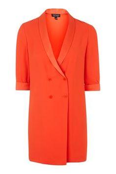Soft Tailored Blazer Dress