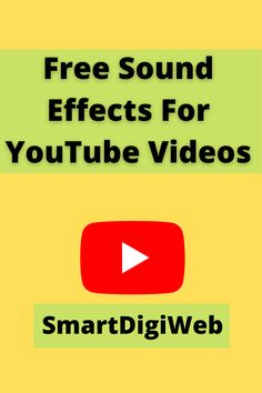 In this video, I share with you 44 free sound effect to improve your YouTube videos and your Channels. Indeed, the sound effect plays an important role in capturing the attention of people watching your videos. Free Sound Effects, You Youtube, You Videos, Plays, Improve Yourself, Promotion, People, Games, People Illustration
