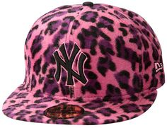 2b5b6098c032e Boné New Era aba reta 5950 59Fifty - New York Yankees - Edição Especial  Animals Aba