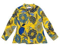 Swing Top - Flower Field Yellow/Blue