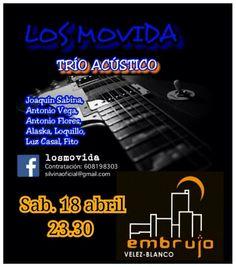 Los Movida en #PubEmbrujo en #VelezBlanco http://losvelezhoy.com/los-movida-en-pub-embrujo-en-velez-blanco/