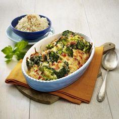 Überbackene Putenschnitzel mit Brokkoli Rezept | LECKER