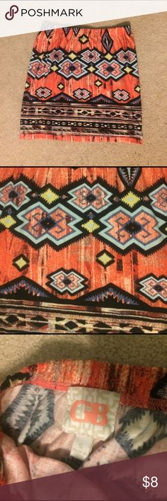 Tribal / Aztec Mini Skirt Great Condition! No signs of wear! Skirts Mini