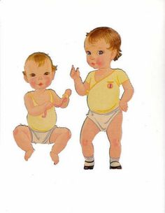 Miss Missy Paper Dolls: 12 Baby Dolls