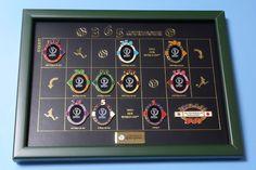 2002 FIFA World Cup Korea Japan 365 Count Down Framed Pin Set  | eBay