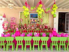 Strawberry Shortcake Birthday Party Ideas | Photo 20 of 26 | Catch My Party