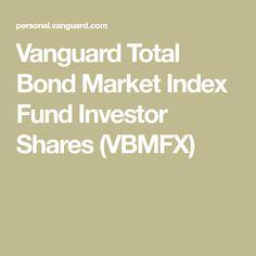 Vanguard Total Bond Market Index Fund Investor Shares (VBMFX)