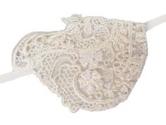 Lace Wing Ivory Victorian Steampunk Bridal by JenkittysCloset, $14.00