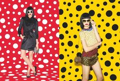 I soooo need the yellow bangles!!!!!!  Yayoi Kusama for Louis Vuitton