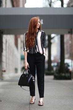 Fashion blogger Erika Fox wears #DorothyPerkins #workwear
