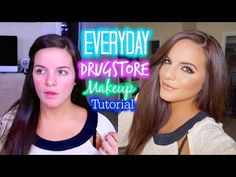 Everyday Makeup Tutorial Using DRUGSTORE MAKEUP | My Favorite Products & Tips | Casey Holmes - YouTube