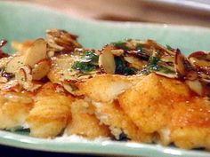 White Fish Fillets Amandine Recipe | Food Network