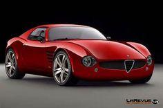 Alfa Romeo 4C Concept -  I love this car!! Damn!