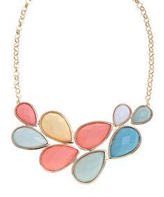 Pastel colors necklace