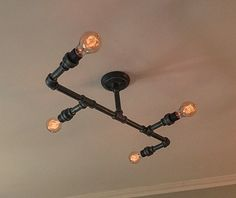 673 Best Pipe Lighting Images On Pinterest