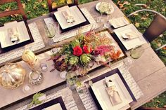 A Beautiful and Rustic Friendsgiving Dinner