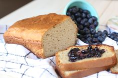 Grain-Free Sandwich Bread:  and for all of you coconut-phobes out there- Not to fear – this bread tastes absolutely nothing like it despite the use of coconut flour!