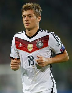 Toni Kroos of Germany looks on during the EURO 2016 Qualifier match between Germany and Scotland at Signal Iduna Park on September 7, 2014 in Dortmund, German