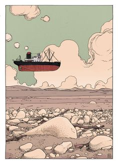 The End of Bon Voyage - by Jared Muralt