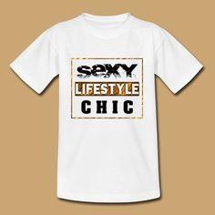 SEXY - LIFESTYLE - GOLD - 1.0.0 T-Shirt   creative-media-impressions