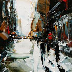 Castan, Daniel #contemporary, #design, #composition, #art, #painting, #palette, #knife, #brushwork