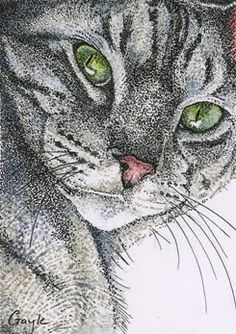 black and white pointillism - Google Search