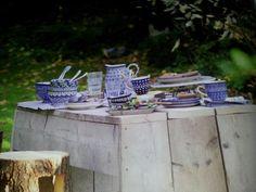 great outdoor ideas: Picknick with my Bunzlau castle Polish handmade pottery